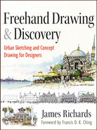 Cover of Freehand Drawing and Discovery: Urban Sketching and Concept Drawing for Designers