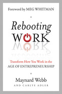 Cover of Rebooting Work: Transform How You Work in the Age of Entrepreneurship