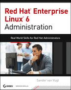 Cover of Red Hat Enterprise Linux 6 Administration: Real World Skills for Red Hat Administrators