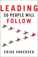 Cover of Leading So People Will Follow