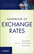 Cover of Handbook of Exchange Rates