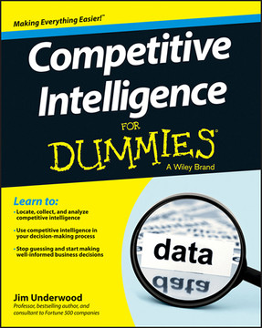 Competitive Intelligence For Dummies