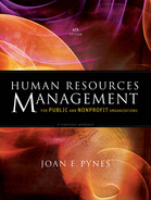 Cover of Human Resources Management for Public and Nonprofit Organizations: A Strategic Approach, 4th Edition