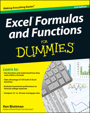excel formulas and functions for dummies 3rd edition book