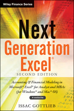 Next Generation Excel: Modeling In Excel For Analysts And MBAs (For MS Windows And Mac OS), 2nd Edition