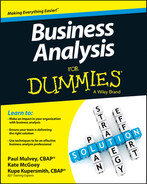Cover of Business Analysis For Dummies