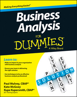 Business Analysis For Dummies