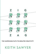 Cover of Zig Zag: The Surprising Path to Greater Creativity