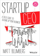 Cover of Startup CEO: A Field Guide to Scaling Up Your Business, + Website