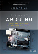 Cover of Exploring Arduino: Tools and Techniques for Engineering Wizardry