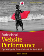 Cover of Professional Website Performance: Optimizing the Front-End and Back-End