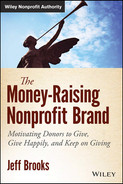 Cover of The Money-Raising Nonprofit Brand: Motivating Donors to Give, Give Happily, and Keep on Giving
