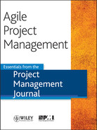 Cover of Agile Project Management: Essentials from the Project Management Journal