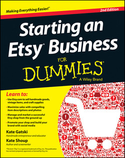 Starting an Etsy Business For Dummies, 2nd Edition