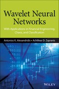 Cover of Wavelet Neural Networks: With Applications in Financial Engineering, Chaos, and Classification