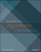 Cover of Essential Algorithms: A Practical Approach to Computer Algorithms