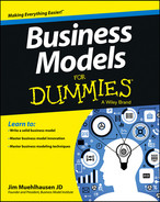 Cover of Business Models For Dummies