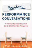 Cover of Painless Performance Conversations: A Practical Approach to Critical Day-to-Day Workplace Discussions