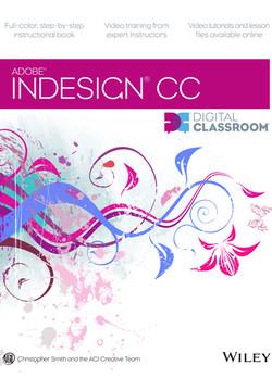Adobe InDesign CC Digital Classroom