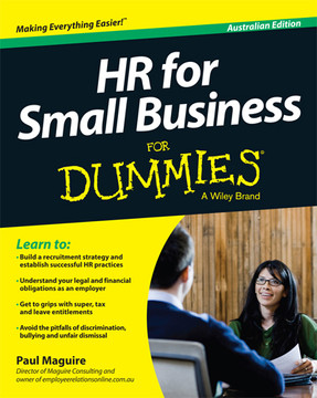 HR For Small Business For Dummies, Australian Edition