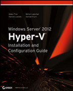 Cover of Windows Server 2012 Hyper-V Installation and Configuration Guide