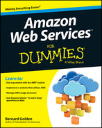 Cover of Amazon Web Services For Dummies