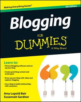 Blogging For Dummies, 5th Edition