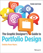 Cover of The Graphic Designer's Guide to Portfolio Design, 3rd Edition