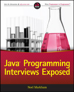 Book cover for Java Programming Interviews Exposed