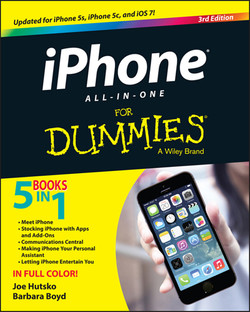 iPhone All-in-One For Dummies, 3rd Edition