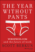 Cover of The Year Without Pants: WordPress.com and the Future of Work