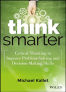 Cover of Think Smarter: Critical Thinking to Improve Problem-Solving and Decision-Making Skills