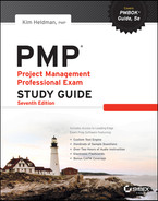 Cover of PMP: Project Management Professional Exam Study Guide, 7th Edition