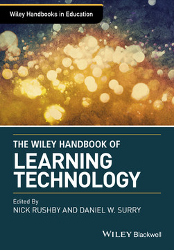 Wiley Handbook of Learning Technology