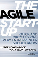 Cover of The Agile Startup: Quick and Dirty Lessons Every Entrepreneur Should Know