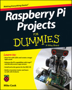 Cover of Raspberry Pi Projects For Dummies