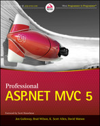 Cover of Professional ASP.NET MVC 5