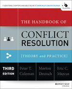 Cover of The Handbook of Conflict Resolution: Theory and Practice, 3rd Edition