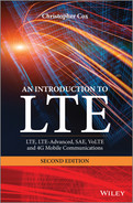 Cover of An Introduction to LTE: LTE, LTE-Advanced, SAE, VoLTE and 4G Mobile Communications, 2nd Edition