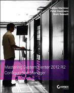 Cover of Mastering System Center 2012 R2 Configuration Manager