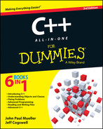 Cover of C++ All-in-One For Dummies, 3rd Edition