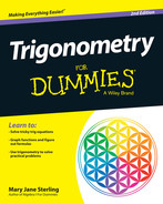 Cover of Trigonometry For Dummies, 2nd Edition