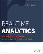 Cover of Real-Time Analytics: Techniques to Analyze and Visualize Streaming Data