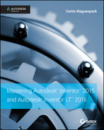 Cover of Mastering Autodesk Inventor 2015 and Autodesk Inventor LT 2015: Autodesk Official Press