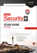 Cover of CompTIA Security+ Study Guide: SY0-401, 6th Edition