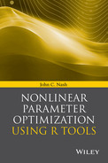 Cover of Nonlinear Parameter Optimization Using R Tools