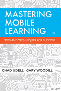 Cover of Mastering Mobile Learning