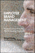 Cover of Employer Brand Management: Practical Lessons from the World's Leading Employers