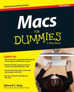 Macs For Dummies, 13th Edition