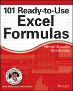 Cover of 101 Ready-to-Use Excel Formulas